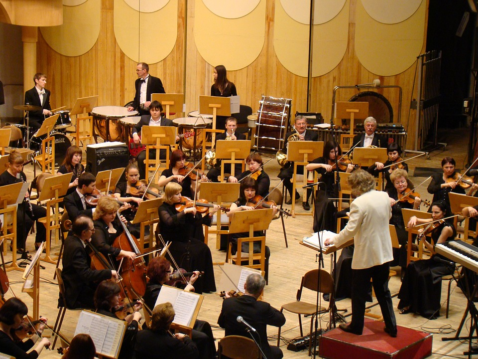 Symphony Orchestra, Konser, Philharmonic Hall, Musik