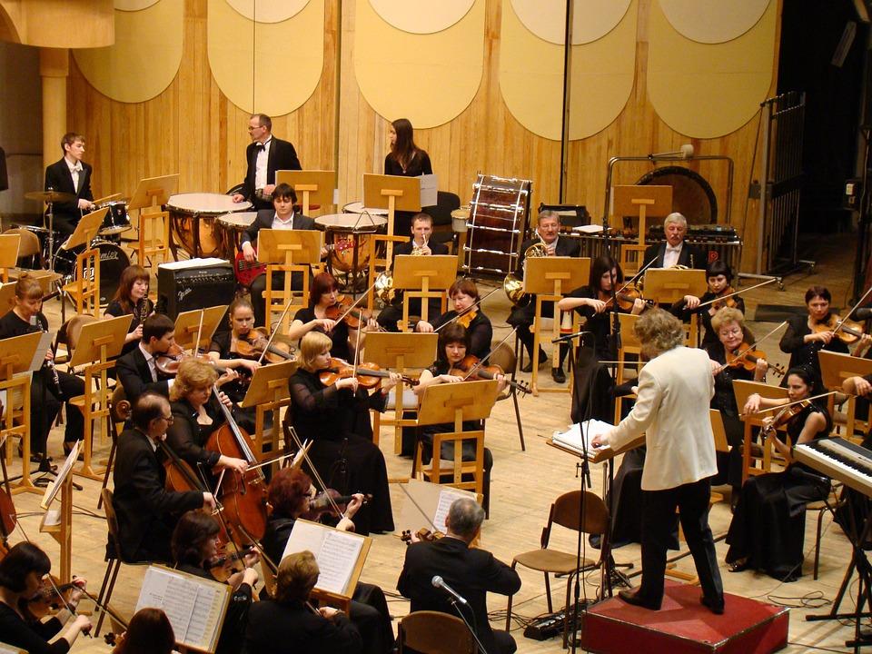 Symphony Orchestra, Konser, Philharmonic Hall, Musik