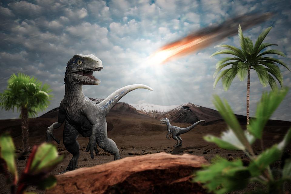 Dinosaurus, Meteor, Dampak, Wahyu, Harmagedon, Punah