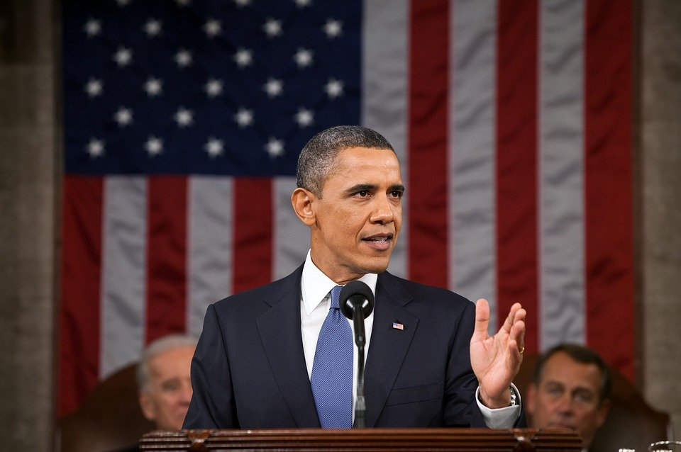 Barack Obama, Potret Resmi, Presiden Amerika Serikat