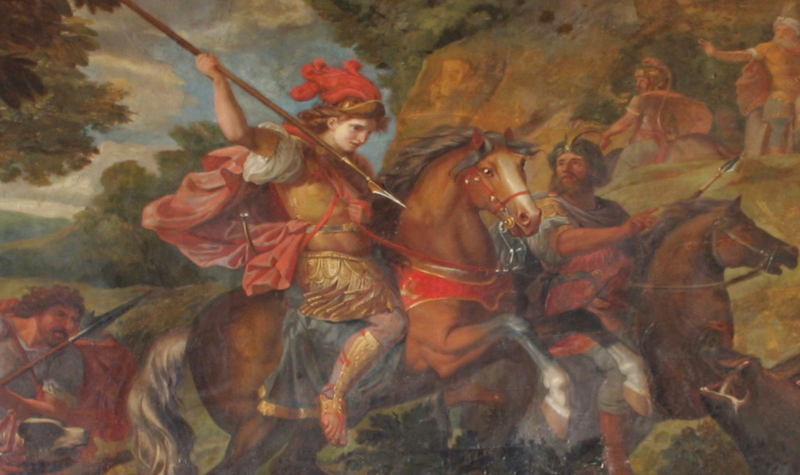 File:Painting of Cyrus the Great in battle.png